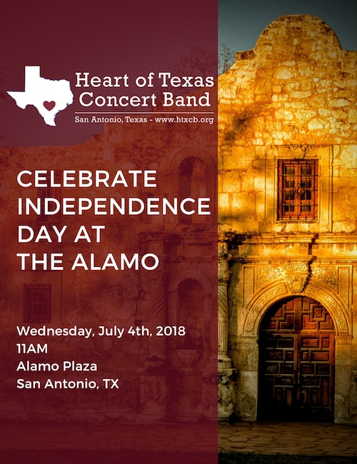 Celebrate Independence Day at The Alamo - July 4, 2018