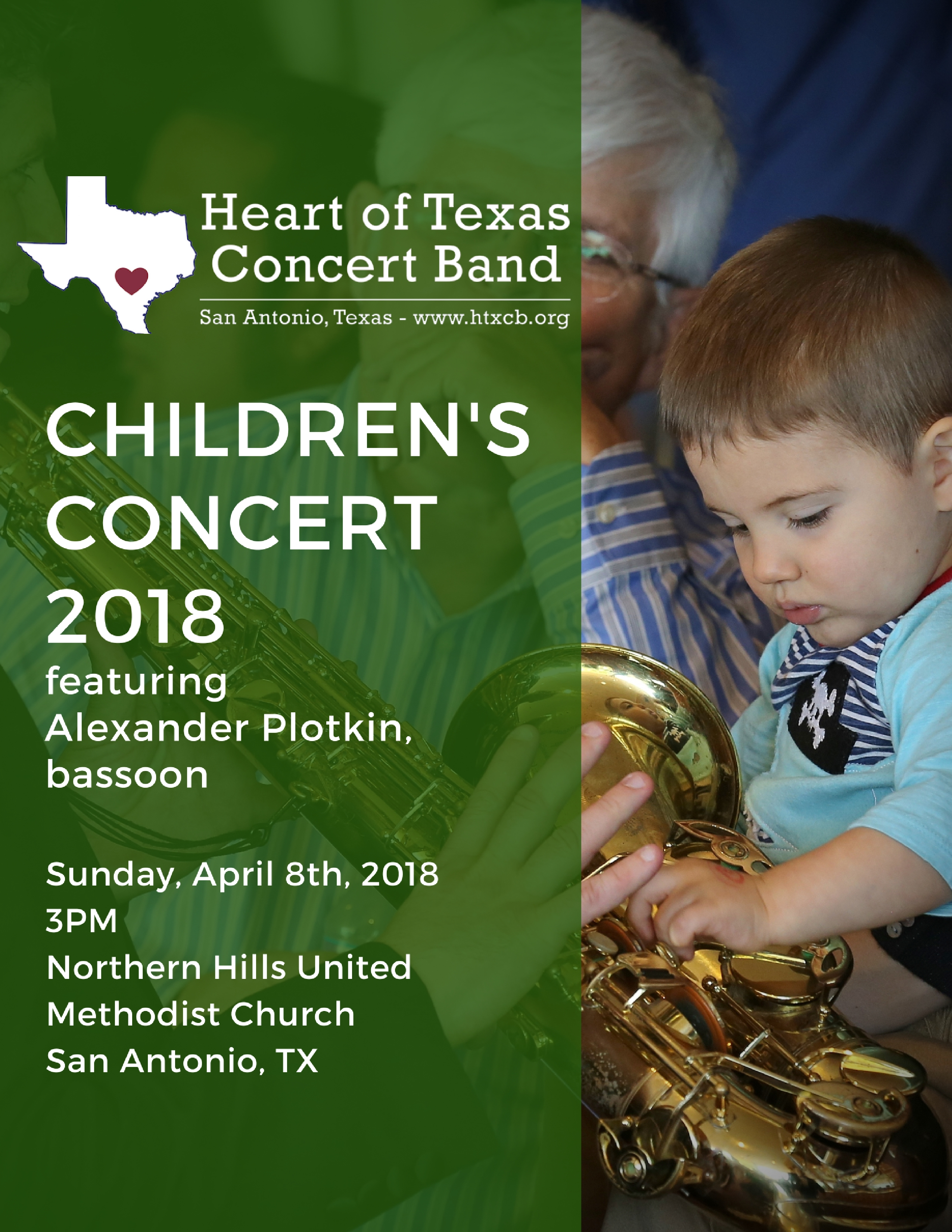 Children's Concert - April 8th at 6PM