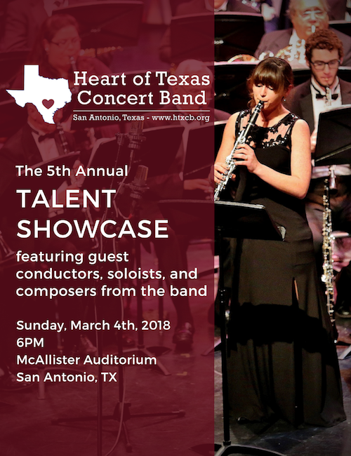Talent Showcase 2018 - March 4th at 6PM