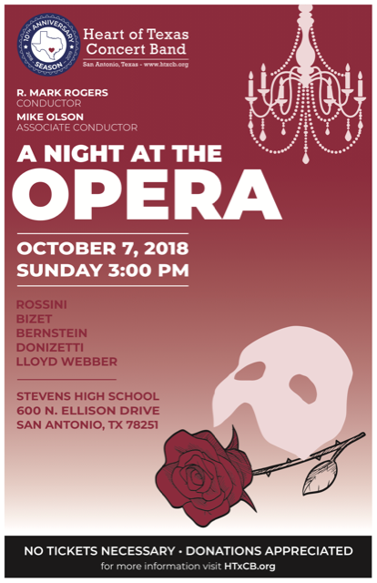 A Night At the Opera - October 7th, 2018
